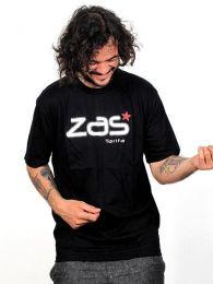 Camisetas T-Shirts - ZAS camiseta manga corta algodón [CMZ10] para comprar al por mayor o detalle  en la categoría de Ropa Hippie Alternativa para Hombre.