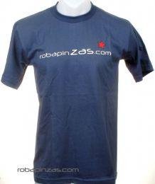 Camisetas T shirts - Robapinzas.com, camiseta algodón CMZ11 - Modelo Azul