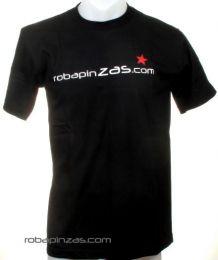 Camisetas T shirts - Robapinzas.com, camiseta algodón CMZ11 - Modelo Negro