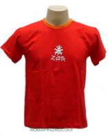 Camiseta manga corta ZAS Mod Rojo