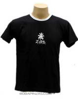 Camiseta manga corta ZAS Mod Negro