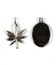 Pingentes de aço inoxidável em duas peças., Para comprar no atacado ou detalhes na categoria de Vestuário Hippie Feminino | Loja alternativa ZAS. [COAC]