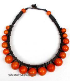 Collar redondo rígido Mod Naranja