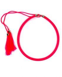 collar grueso de hilo en Mod Rosa fluor