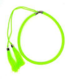 collar grueso de hilo en Mod Verde Fluor