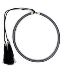 collar grueso de hilo en Mod Gris