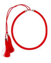 collar grueso de hilo en Mod Rojo