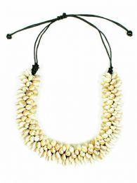 Collier coquillage épais ajustable, à acheter en gros ou en détail dans la catégorie Alternative Ethnic Hippie Outlet | Magasin ZAS Hippie. [COBOU37]