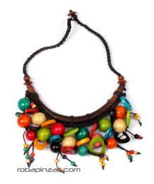 Collar étnico de Mod Multicolor
