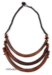 Collar tribal étnico detalle del producto
