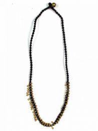 Collares Hippie Étnico - Collar realizado en macramé COMS06.