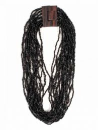 Multiturn necklace of colored beads COPA01 to buy wholesale or detail in the category of Ethnic Hippie Alternative Jewelry and Silver | ZAS Online Store.