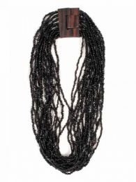 Collana multigiro di perline colorate, da acquistare all'ingrosso o dettaglio nella categoria Abbigliamento Hippie Donna | Negozio alternativo ZAS. [COPA01]