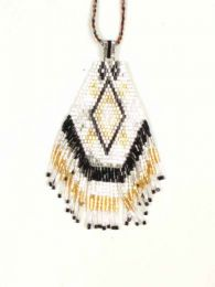 Collares Hippie Étnico - Collar largo con colgante COPA05.