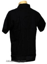 Camisas Hippies M Corta - Camisa algodón botonadura CSRA01.