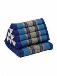 Almohadas y Colchones Kapok Tailandia - Cojín con almohada CTMO02 - Modelo Azul