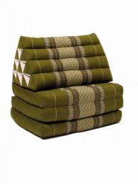 Colchoneta con almohada triangular Mod Verde