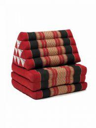 Almohadas / Colchón Kapok Thai - Colchoneta con almohada triangular CTMO01 - Modelo Rojo
