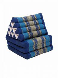 Colchoneta con almohada triangular Mod Azul