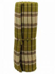 Almohadas y Colchones Kapok Tailandia - Colchoneta con relleno de CTMO03 - Modelo Verde