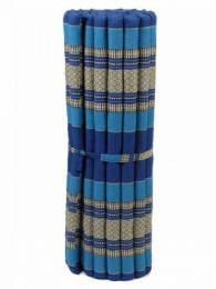 Almohadas y Colchones Kapok Tailandia - Colchoneta con relleno de CTMO03 - Modelo Azul