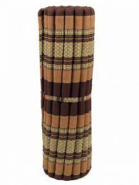 Almohadas y Colchones Kapok Tailandia - Colchoneta con relleno de CTMO03 - Modelo Marrón
