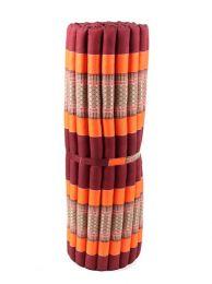 Almohadas y Colchones Kapok Tailandia - Colchoneta con relleno de CTMO03 - Modelo Naranja