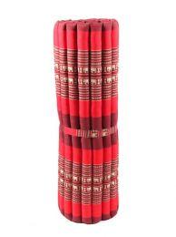 Almohadas y Colchones Kapok Tailandia - Colchoneta con relleno de CTMO03 - Modelo Rojo2