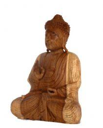 Figura Buda tallada en detalle del producto