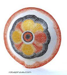 Lámpara decorativa realizada en fibra de vidrio viene con base de, para comprar al por mayor o detalle  en la categoría de Ropa Hippie y Alternativa para Hombre | ZAS Tienda Hippie.[DLASO01]