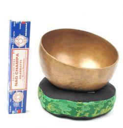 Singhing bowl, cuenco cantarín Mod Envejecido