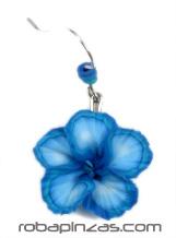 Pendientes de flores de FIMO Hawai resistente al agua, colgante Comprar - Venta Mayorista y detalle