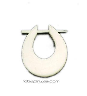 Pendientes hueso de búfalo, cierre stick de hueso 1.2mm. Precio por PEHU05 para comprar al por mayor o detalle  en la categoría de Bisutería Hippie Étnica Alternativa.