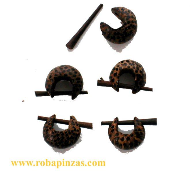 Pendiente madera bola 30 mm grueso precio por PAR Comprar - Venta Mayorista y detalle