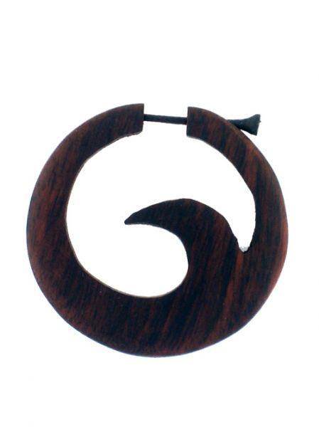 Pendientes de madera  40mm PEMA29 para comprar al por mayor o detalle  en la categoría de Bisutería Hippie Étnica Alternativa.