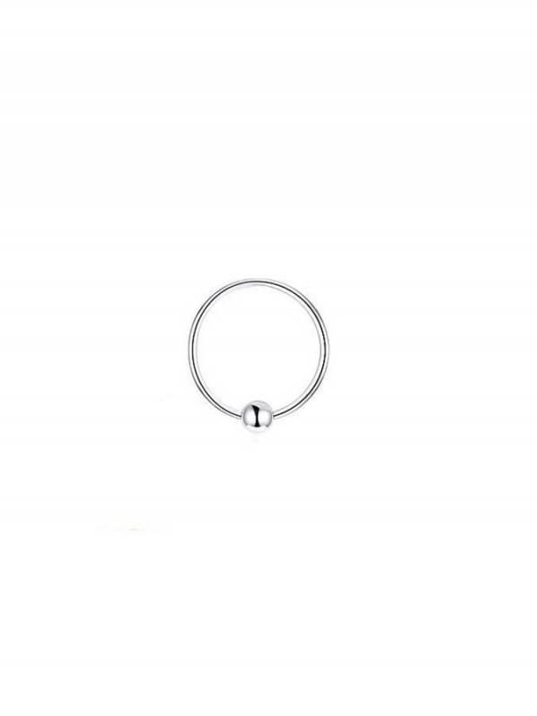 Aros de plata para Nariz con bola [PENR01] para comprar al por Mayor o Detalle en la categoría de Aros y Pendientes Plata