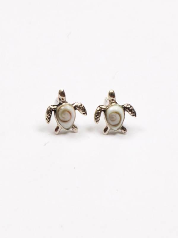 Pendientes Plata Ojo de Shiva Tortuga [PEOJ09] para comprar al por Mayor o Detalle en la categoría de Ojo de Shiva - Plata