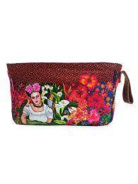 Saco de lavagem grande com padrão Frida Kahlo, para comprar no atacado ou detalhes na categoria Jóias Hippie étnicas alternativas e prata | ZAS Online Store. [ESMEBA]