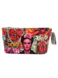 Bolsos y Monederos de Frida Kahlo  - Neceser Grande Estampados Frida Kahlo. [ESMEBA] para comprar al por mayor o detalle  en la categoría de Complementos Hippies Alternativos.