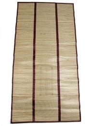 Estera de rafia fibras naturales detalle del producto