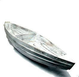 Exhibitor boat. Wooden exhibitor with the shape of a boat of 120x30cm, to buy wholesale or detail in the category of Women's Hippie Clothing | ZAS Alternative Store. [EXUT01]