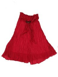 Falda 100% algodón Mod Granate