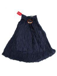Falda 100% algodón Mod Azul
