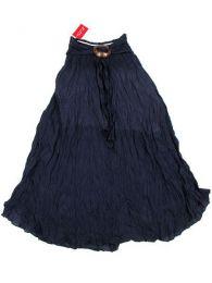 Faldas Hippie Étnicas - Falda 100% algodón FAAL02 - Modelo Azul