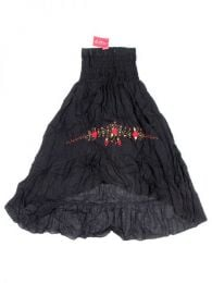 Ethnic Embroidered Dress-Skirt, to buy wholesale or detail in the Bohemian Hippie Fashion Accessories category | ZAS. [FAAO02]