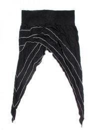 Falda diseño picos Mod Negro