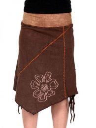 Falda hippie de algodón detalle del producto