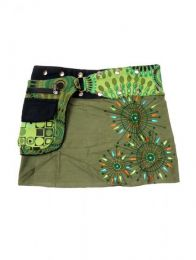 Minifalda 100% algodón Mod Army