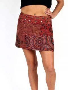 Minigonna hippie patchwork, da acquistare all'ingrosso o dettaglio nella categoria di Abbigliamento Donna Hippie | Negozio alternativo ZAS. [FAEV15]