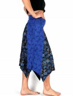 Gonna Hippie stampata patchwork, da acquistare all'ingrosso o dettaglio nella categoria di Abbigliamento Donna Hippie | Negozio alternativo ZAS. [FAEV17]